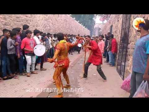 Golkond Bonalu 2017 II POTHARAJU Dance II Hyderabad