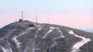 Sugarloaf Mountain, Carrabassett Valley, Maine - Aerial Fly by II