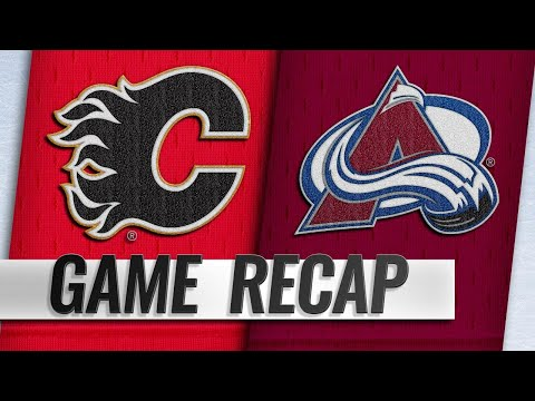 Gaudreau's breakaway goal lifts Flames in OT, 3-2