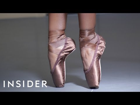 Ballet Shoes Made For Brown-Skinned Ballerinas