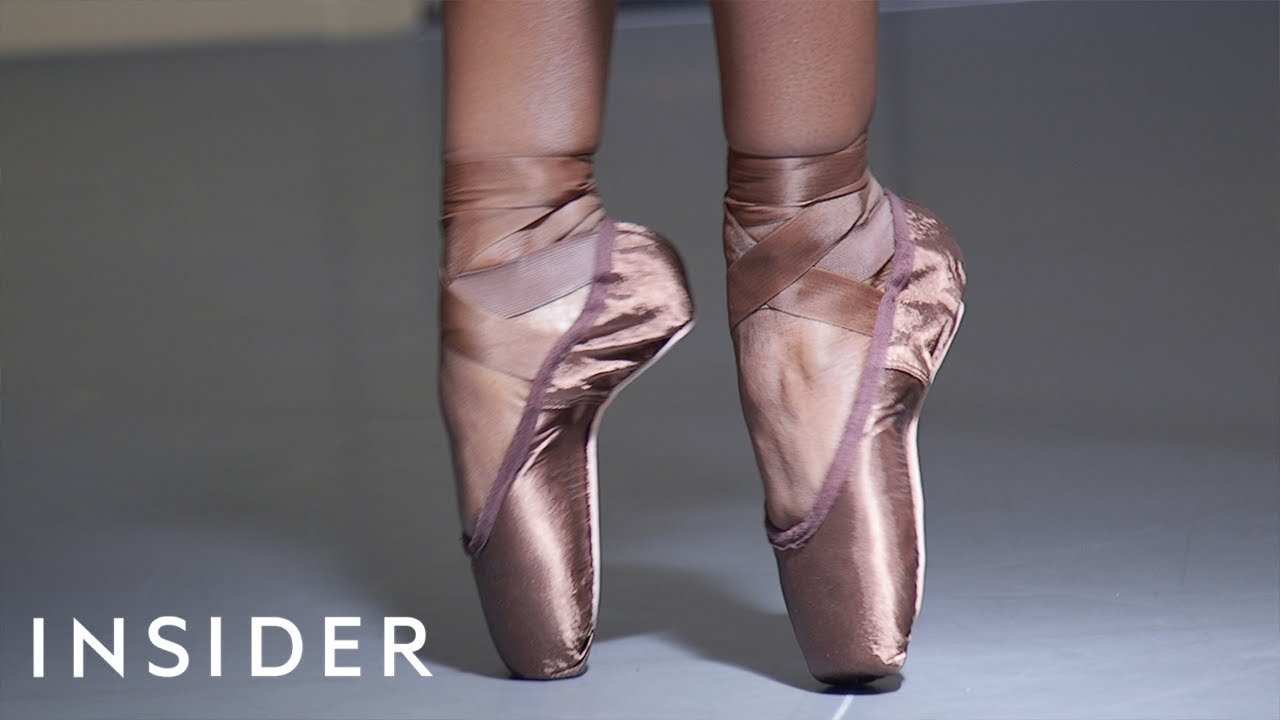Ballet Shoes Made For Brown-Skinned Ballerinas | The Kid