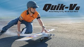 Raw Performance: Great Planes Quik-V6