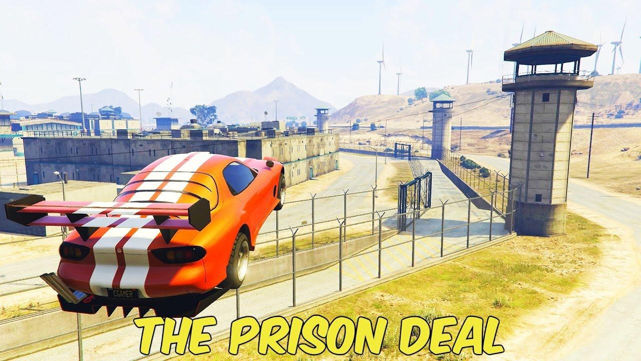 ΜΠΗΚΑ ΣΤΗ ΦΥΛΑΚΗ!! (GTA Online: The Prison Contract   Solo)