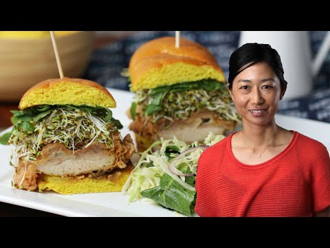 Golden Chicken Sandwich As Made By Chef Kuniko Yagi • Tasty