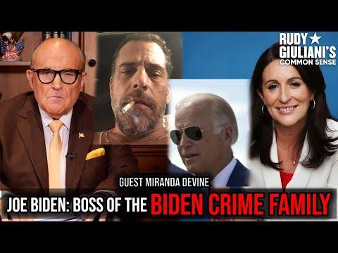 JOE BIDEN: BOSS OF THE BIDEN CRIME FAMILY | Rudy Giuliani | Ep 175