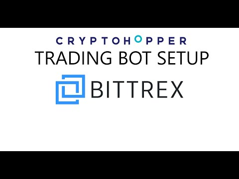 How to Setup A CryptoHopper Bitcoin Crypto Trading Bot Strategy & Pools on the Bittrex Exchange