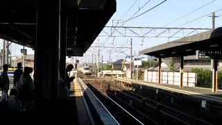 名鉄1809F+1111F 回送電車扶桑通過