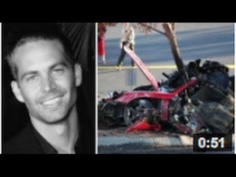 paul walker meurt dans un accident de voiture youtube. Black Bedroom Furniture Sets. Home Design Ideas