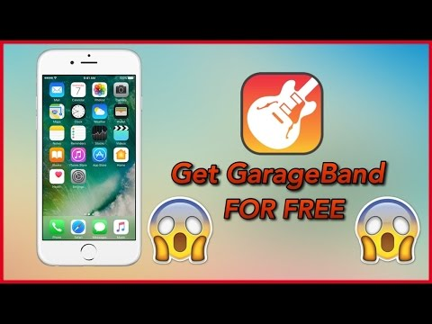 How to Download GarageBand in AppStore For Free On iOS 9-10 ( NO JAILBREAK!! No Conputer!! )