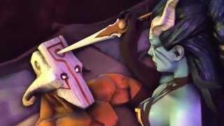 Dota 2 sfm Juggernaut + Queen of Pain =?