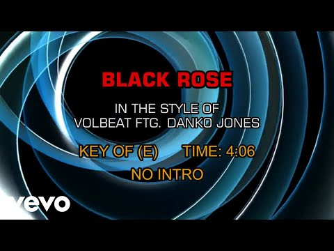 Volbeat - Black Rose ft. Danko Jones  (Karaoke)