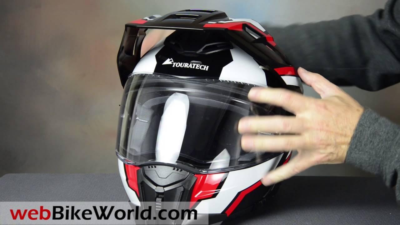 touratech aventuro mod motorcycle helmet youtube. Black Bedroom Furniture Sets. Home Design Ideas
