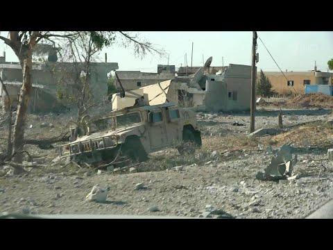 Армия Сирии вступает в районы, населенные курдами, которые просят защиты от турецкого наступления.