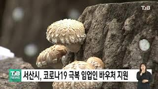 TJB뉴스 - 서산시, 코로나19 극복 임업인 바우처 …