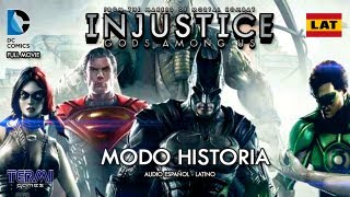 """INJUSTICE : GODS AMONG US"" (Full Movie) [Español Latino]"
