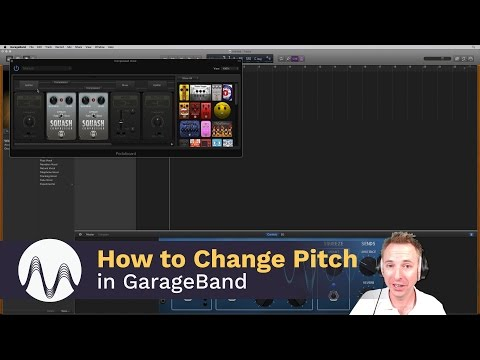 How to Change Pitch in GarageBand