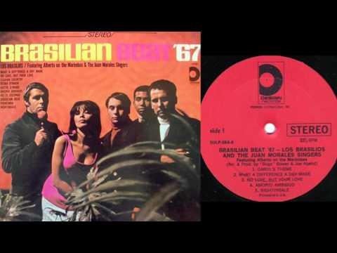 brasilian beat 67-los brasilios juan morales singers FULL LP STEREO 1967 design CANADA LP
