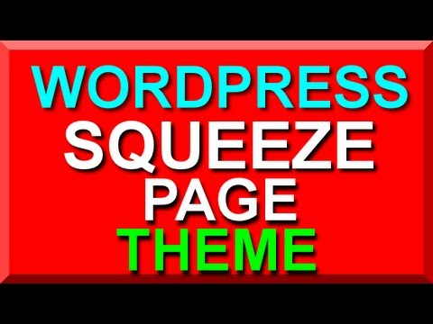 Wordpress Squeeze Page Theme Wp Squeeze Page Sales Page Templates - Squeeze page templates wordpress