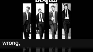 Yesterday - The Beatles (female karaoke version)