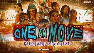 JUNE 2018 [CLEAN] DANCEHALL MIX ONE AN' MOVE CLEAN FT GOVANA/VYBZ KARTEL/ALKALINE 1876899-5643 - Stafaband