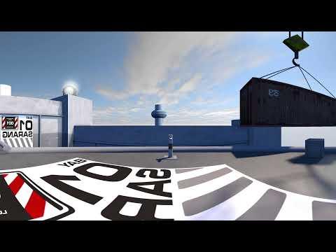 City landing platform: 360 VR