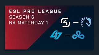LIVE: CLG vs. Cloud9 - ESL Pro League Season 6