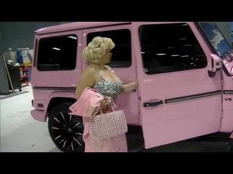 Trisha Paytas G Wagon