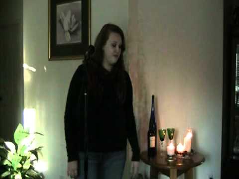 Sara Holcomb sings Strawberry Wine by Joe dee Messina