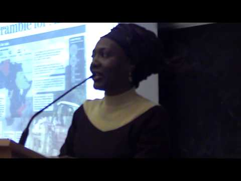 University of Sussex: Global North Energy Security Panic and US Africom conference: Part 1