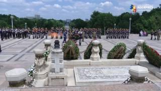 Eroii neamului, comemoraţi la monumentul din Parcul Carol