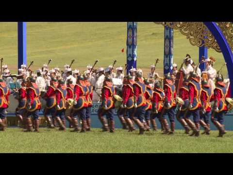 "Mongolian traditional ""Naadam"" festival dedicated to the 11th ASEM Summit representatives"