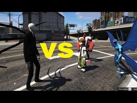 GTA 5 - Slenderman bắt Ben 10 (Ý tưởng Fan)   GHTG