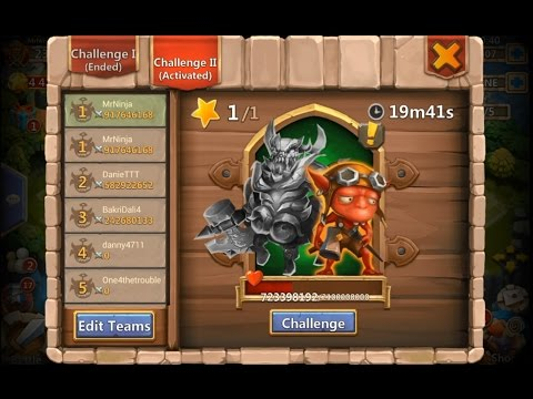 Castle Clash: Centaur Ruler & Rage Robin Aka The Imp