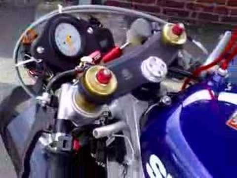 Suzuki Rg 500 two stroke Racing Bike part 2 nice sound