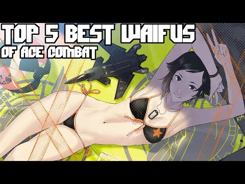 Top 5 Best Waifus of the Ace Combat Series - Valentine's Day Edition