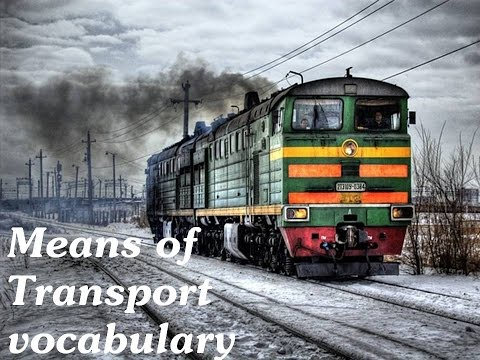 Means of transport_learn English