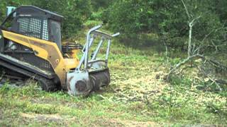 DENIS CIMAF Land clearing equipment forestry Mulcher for skid-steers