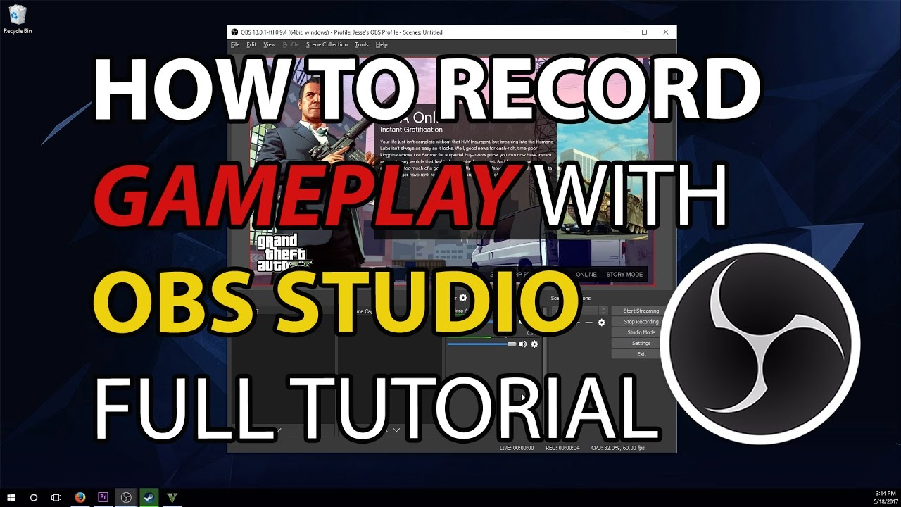 Steam Community :: Video :: How To Record Gameplay With OBS
