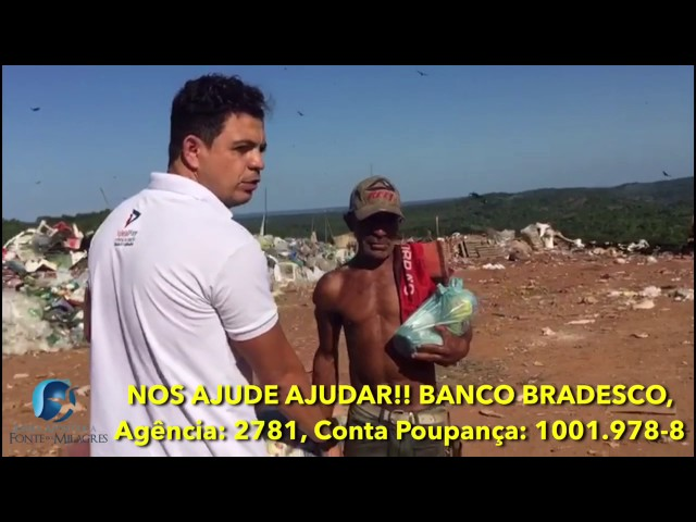 Lixão em Valenca - Ba, obra missionária