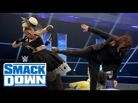 Tamina makes her presence felt ahead of Fatal 5-Way Match: SmackDown, March 27, 2020