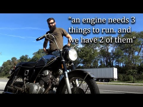 How to Ruin a really nice Motorcycle (CB77 Super Hawk) Episode #2