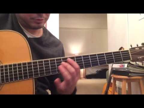 Flatpicking/jazz idea over G7 (lesson)
