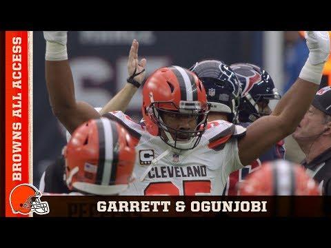 Analyzing Myles Garrett & Larry Ogunjobi Sacks | Browns All Access