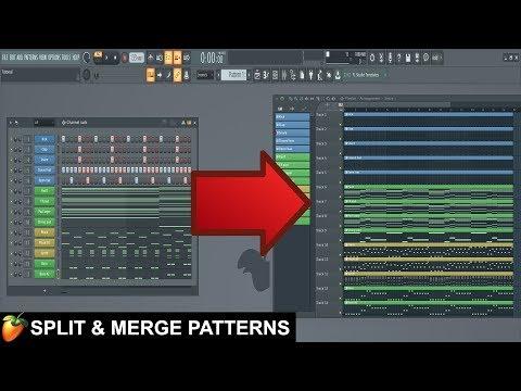 How To Split & Merge Patterns In FL Studio 20