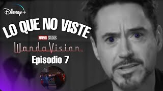 WANDAVISION Episodio 7 | Lo que no viste Referencias | Easter Eggs por Tony Stark