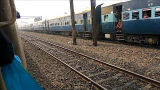 Parallel with 15722/Paharia Express   New Jalpaiguri to Santragachi...