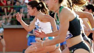 Women's 100m at Spanish Championships 2018
