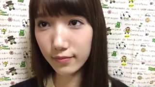 161023田中菜津美(HKT48 チームH)のSHOWROOM.