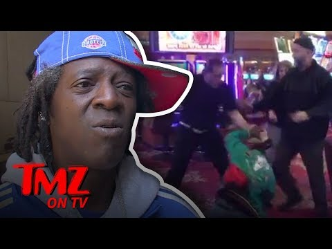 Flavor Flav Attacked In Vegas!  TMZ TV