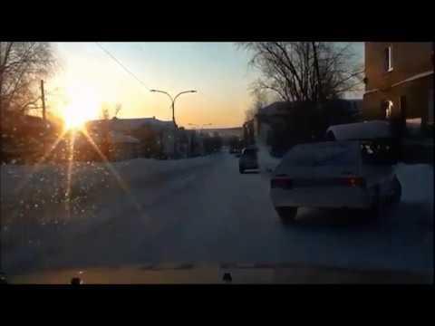 Погоня за пьяным водителем в Кушве